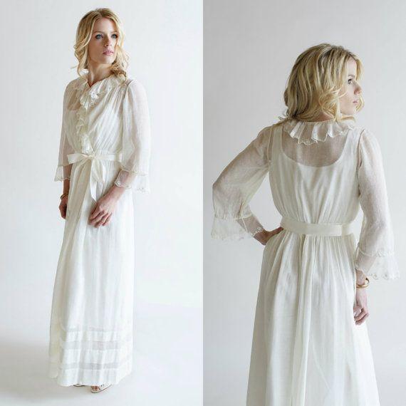 Edwardian Antique Wedding Dress / Vintage by BelovedVintageBridal