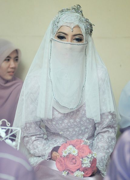 niqab wedding