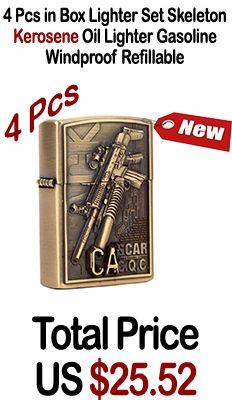 4 Pcs in Box Lighter Set Skeleton Kerosene Oil Lighter Gasoline Windproof Refillable Cigarette Metal Retro Men Bar Gun Lighters #plasmalighter #arclighter #arclighters #usblighters #usblighter #plazmalihters #lighterzshop #ElectronicLighter #Lighter #Cigar #windprooflighter #savetheplanet #nobutane #smokeboxdotcom #smoking #marlboro #winston #zippo