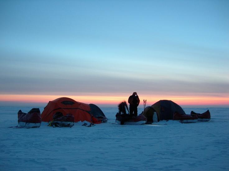 Campamento en la Banquisa