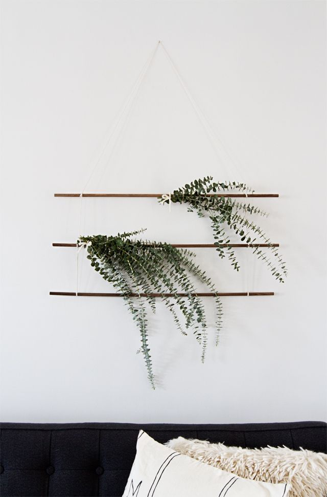eucalyptus wall hanging /