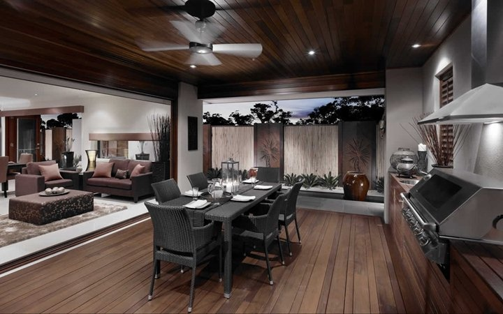 Belize Outdoor and Living 2, New Home Designs - Metricon
