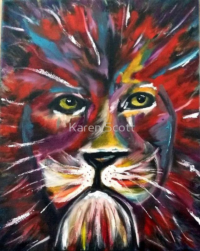 Kaz Art Creations Red Lion