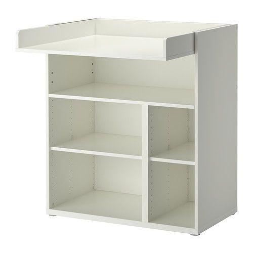 IKEA - STUVA, Cambiador/scrit, , Práctico almacenaje de fácil acceso, que te permite mantener siempre una mano sobre tu bebé.