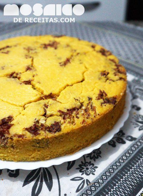 Mosaico de Receitas: Torta de Carne Seca com Massa de Abóbora