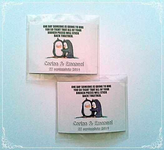 Marturii magnet de nunta | Mopo Shop