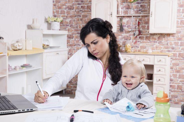 7 tips om een efficiënte, werkende moeder te worden