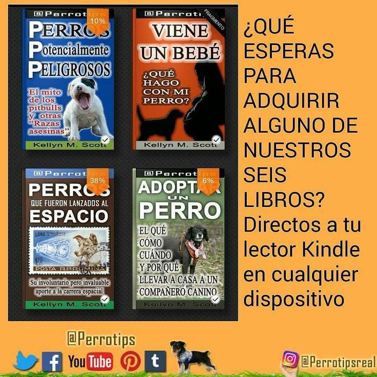 """Disponibles en Amazon Kindle. Link a nuestra página en Amazon en nuestra bio. Allí puedes hacer click y ver nuestros libros disponibles . Haz """"me gusta"""" en nuestra página de Facebook http://ift.tt/1TmYgiS y no te pierdas nuestras actualizaciones #perrotips . .  #amorperruno #instapets #perrosdeinstagram #cachorros #doglover #cachorro #puppies #can #petstagram  #canes #mascotas #perro #adoptanocompres #hablandoporlosquenotienenvoz  #adopta #perros #dog  #pets #animales #dogsofinstagram…"""