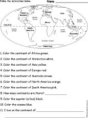 Printables 5 Themes Of Geography Worksheet 1000 images about ss 5 themes on pinterest remember this continents printout oon enchanted learning