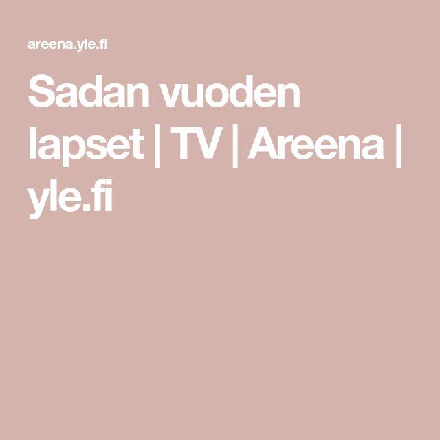 Sadan vuoden lapset | TV | Areena | yle.fi