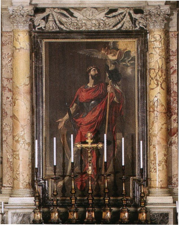 St. Wenceslaus was born around the year 907. His father Duke Wratislaw was a Catholic but his mother Princess Dragomir practiced the native Pagan religion.  She would later arrange the murders of both Wenceslau and his grandmother Ludmilla, who is also a canonised saint.... (Image: Altar at St. Peter's Basilica, Vatican)