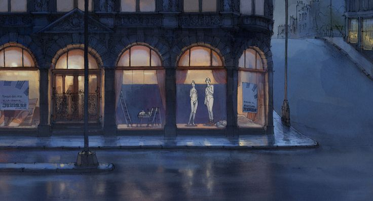 The illusionist, Background/Layout artist, Django Films - Bjørn-Erik Aschim's Portfolio ✤ || CHARACTER DESIGN REFERENCES | キャラクターデザイン |  • Find more at https://www.facebook.com/CharacterDesignReferences & http://www.pinterest.com/characterdesigh and learn how to draw: concept art, bandes dessinées, dessin animé, çizgi film #animation #banda #desenhada #toons #manga #BD #historieta #strip #settei #fumetti #anime #cartoon from the art of Disney, Pixar, Studio Ghibli and more || ✤
