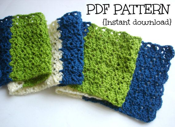 Crochet Stitches Pdf Free Download : Crochet scarf pattern PDF instant download Deep by Thehobbyhopper, $3 ...