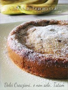 Torta di banane e cioccolato | ricetta dolce senza uova e senza burro