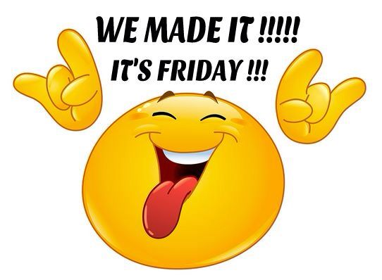 We Made A Wish And It Was You We Made: Friday!! We Made It!!