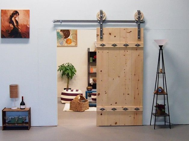 Türsystem für Schiebetüren / wooden door system by Mueller-Designs-ES via DaWanda.com