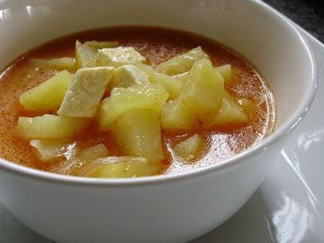 CALDO DE QUESO CON PAPAS ..COMIDA SONORENSE#Repin By:Pinterest++ for iPad#