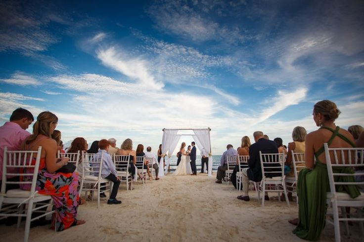 Romantic Riviera Maya Wedding at Belmond Maroma Resort and Spa, MX  Ceremony on the beach in gorgeous Mexico!   Photographer:  Juan Euan