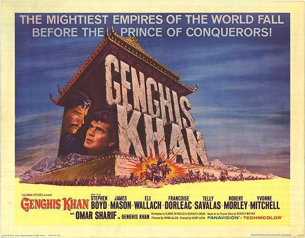 Genghis Khan | Jack Hawkins & Robert Morley | Pinterest | Genghis khan