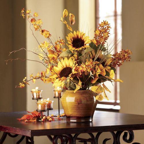 Sunflower Arrangement From Through The Country Door