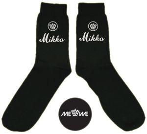 Me We - Kustomoitavaa katumuotia Helsingistä |  Isänpäiväsukat, tyylikkäät * Me We Store -  Customized Socks, Gift For Dad * #isalle #isanpaiva