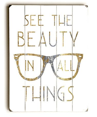 Another great find on #zulily! See The Beauty Wall Décor by ArteHouse #zulilyfinds