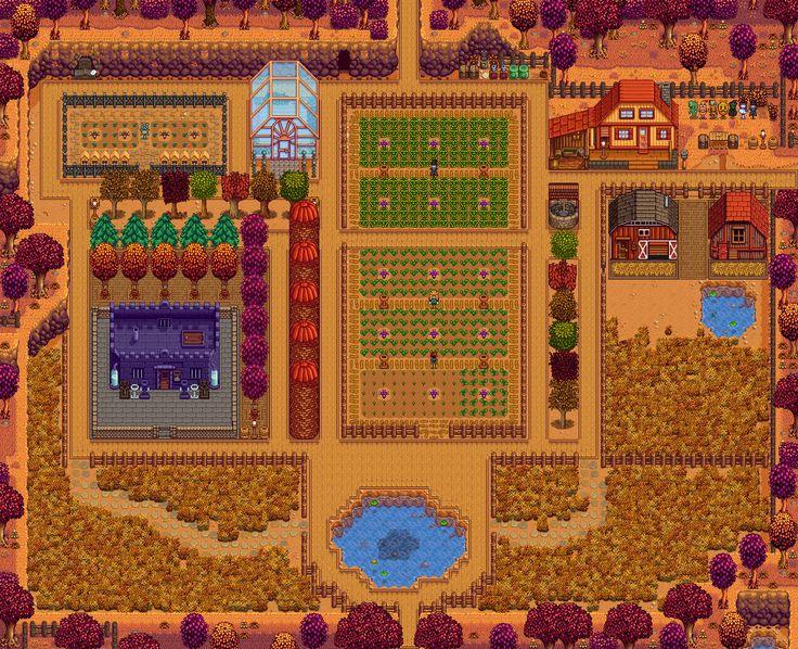 23 besten stardew valley farm layouts bilder auf pinterest - Sims 3 spielideen ...