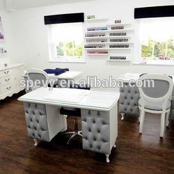 Source Pink Nail Manicure Table for Nail Salon Furniture Cheap Manicure Station Tavolo Manicure Con Aspirazione on m.alibaba.com