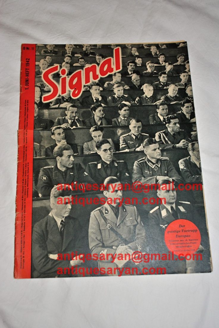 german signal magazine for sale