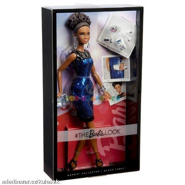 BRB Barbie sběratelská kolekce Look míšenka 699,-