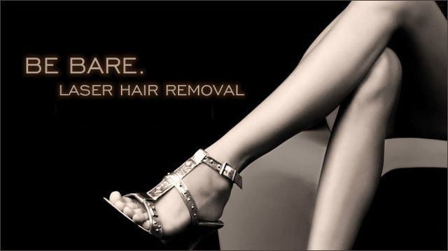 Be bare with laser hair removal