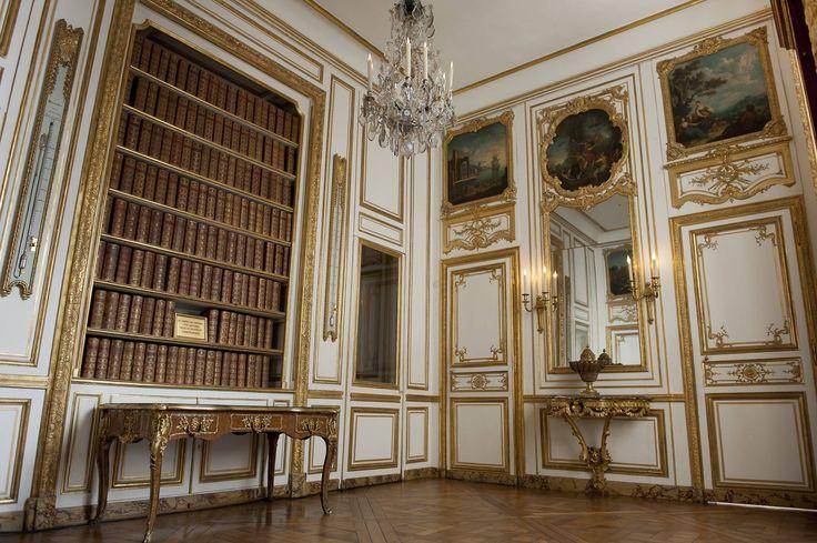 Vue actuelle du cabinet des Dépêches dans les appartements intérieurs du Roi, 2012, Versailles, châteaux de Versailles et de Trianon © EPV/ Thomas Garnier
