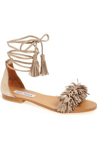 Steve Madden 'Sweetyy' Lace-Up Sandal (Women) available at #Nordstrom