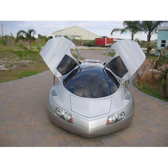 Futuristic Car Customization Extra-Terrestrial Vehicle (ETV)