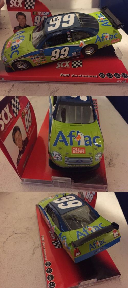 1970-Now 152936: Carl Edwards Aflac Scx Slot Car -> BUY IT NOW ONLY: $40 on eBay!