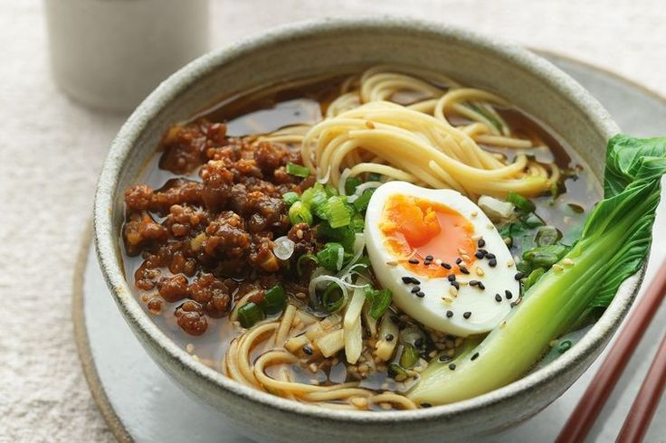 The ultimate winter warmer, this spicy miso ramen will keep you cosy on the coldest of nights.