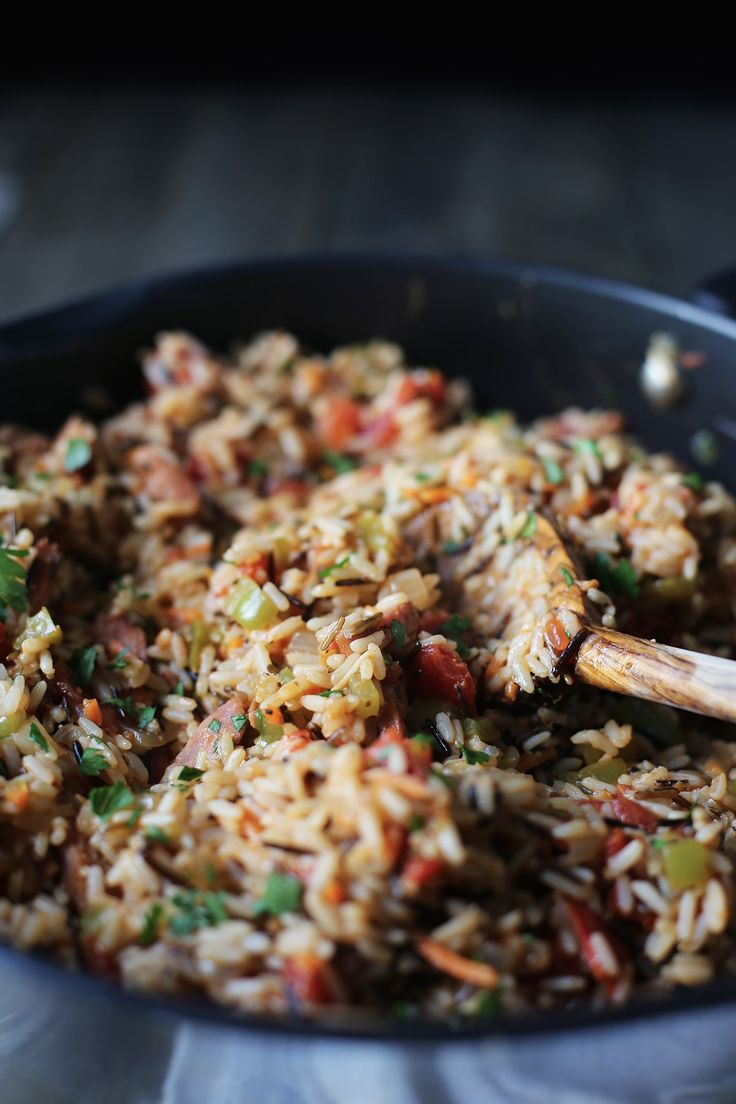 This Cajun Wild Rice can be enjoyed as a meal itself or a side dish to complete your dinner. Grab some Canoe WIld Rice and givie it a try!