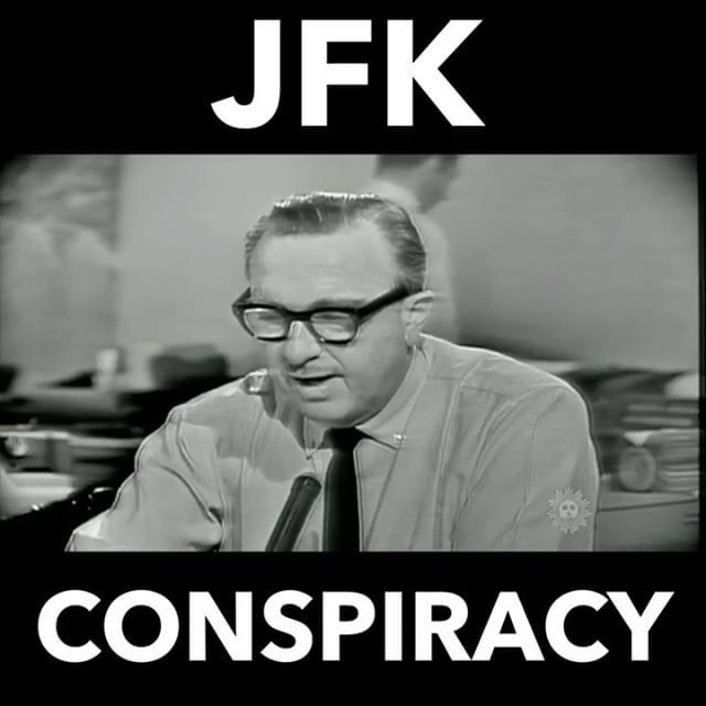 Offical story written in the 'Warren Commission Report' is that 3 bullets were shot from behind the presidents car. It clearly shows on this video that the bullet comes from the front and blows his head back and to the left. #JFK