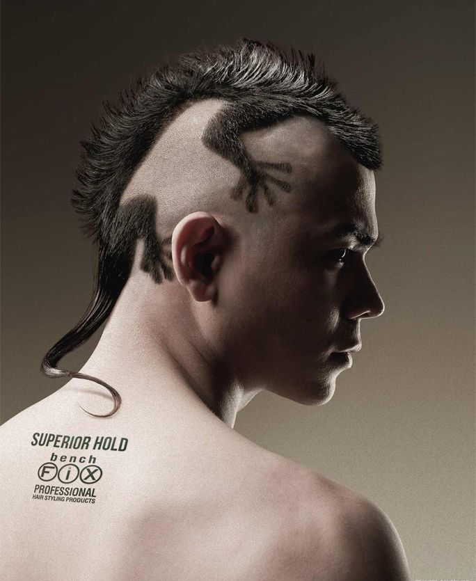Unique Funny Hairstyles for Men
