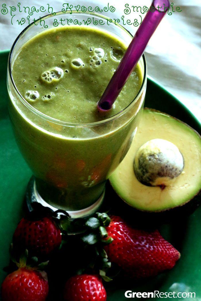 spinach avocado smoothie