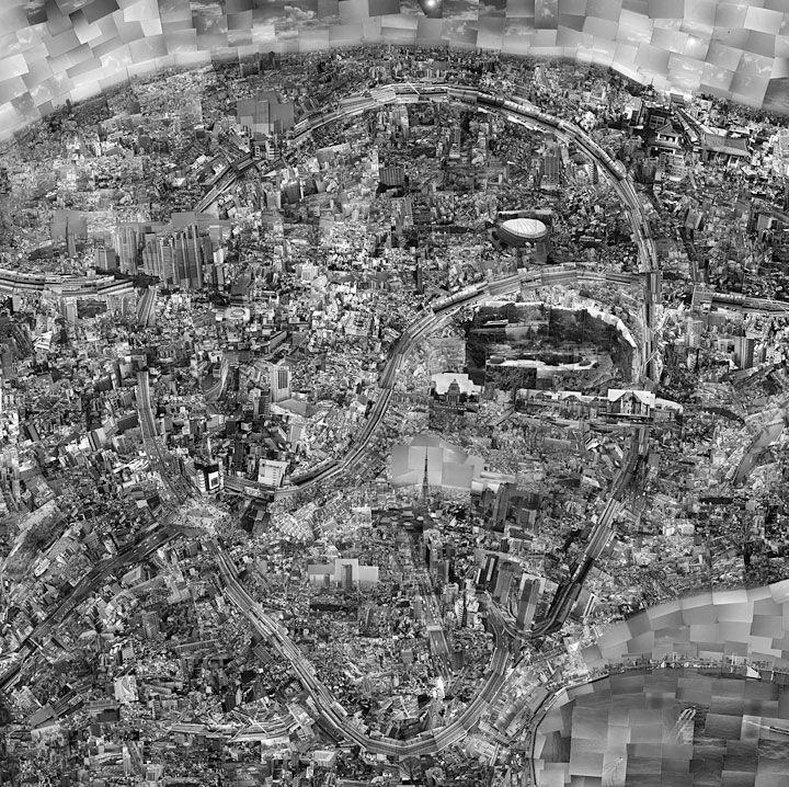 genius- Sohei Nishino    Diorama map tokyo