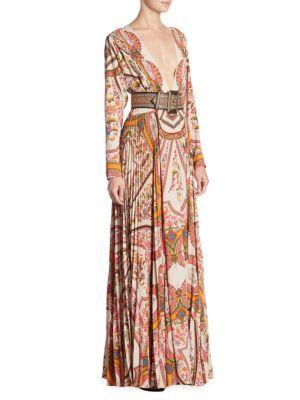 Etro - Reversible Maxi Dress