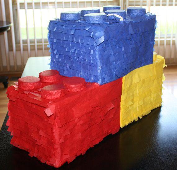 Lego Piñata by PinataQueen on Etsy, $56.00