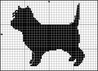 Cairnterrier (svart)