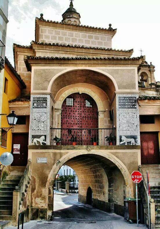 Puerta de Trujillo in Plasencia - Cáceres, Spain