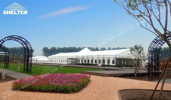Shelter Corturi oferă cort de nunta cu vânzare înalt vârf din București, Constanta și Galați. Pentru catering / receptie / ceremonii / petreceri.
