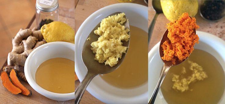 Mette a bollire limone, zenzero e aglio. Poi il risultato è sorprendente!