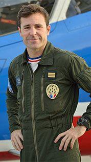 Patrouille de France - Pilotes de la saison 2016 Benjamin Chanat (Second solo)