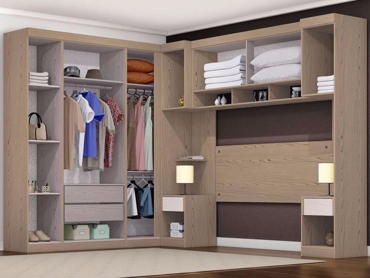 Resultado de imagem para quarto armario em cima da cabeceira