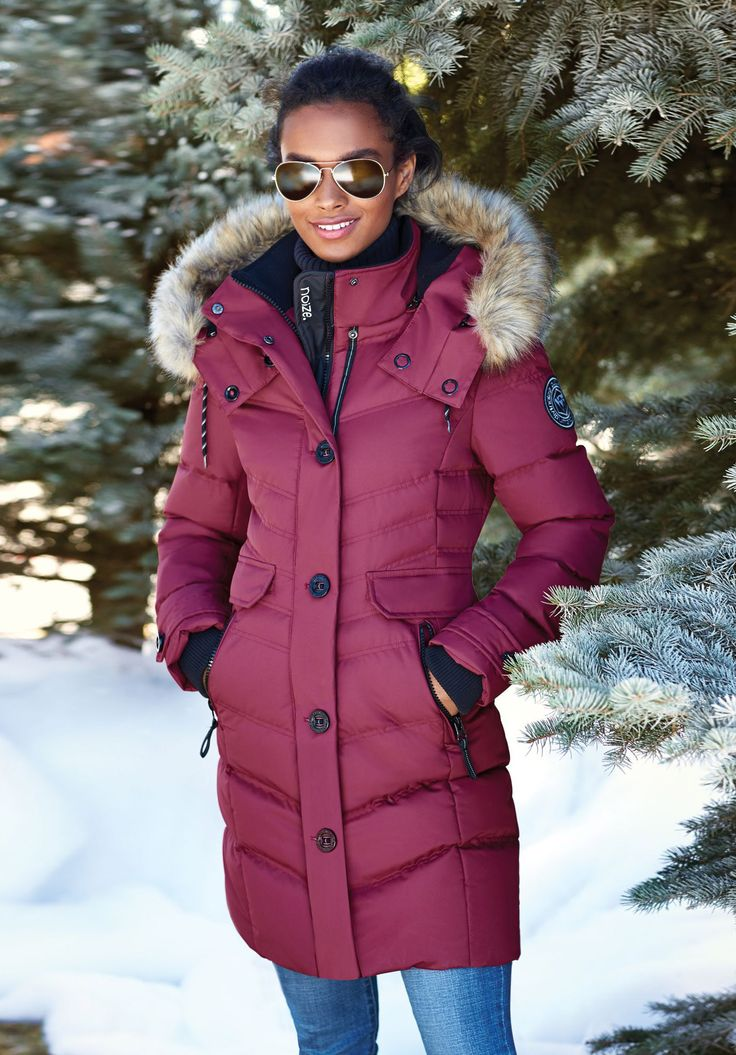 Noize® Women's Quilted Full-Length Parka